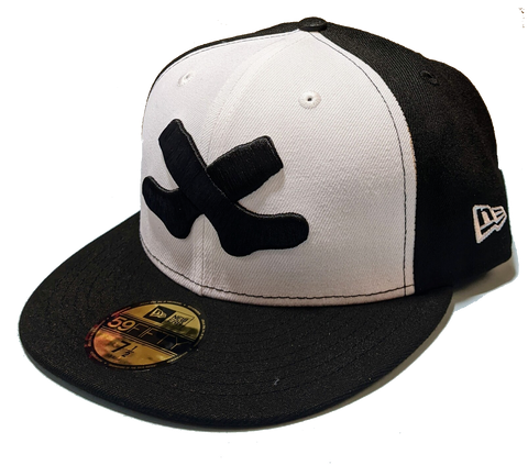 Men's Chicago White Sox 1926 Cross Socks Logo Cooperstown Collection New Era 59FIFTY Fitted Hat