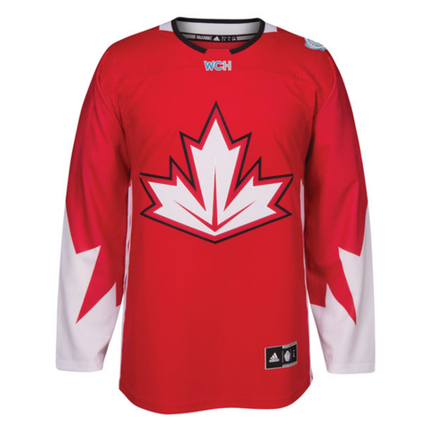 Men's Canada Hockey Adidas Red 2016 World Cup of Hockey Jersey