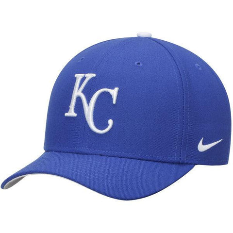 Men's Kansas City Royals Nike Royal Wool Classic Adjustable Performance Hat