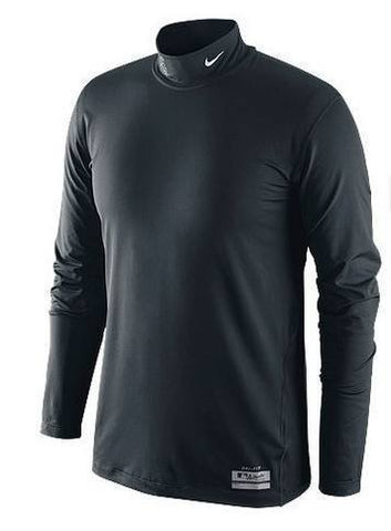 Men's Chicago White Sox Authentic Collection Nike Pro Combat Core Mock Long Sleeve Tee