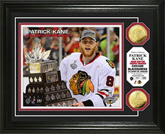 Chicago Blackhawks Patrick Kane 2013 Conn Smythe Trophy Gold Coin Photo Mint