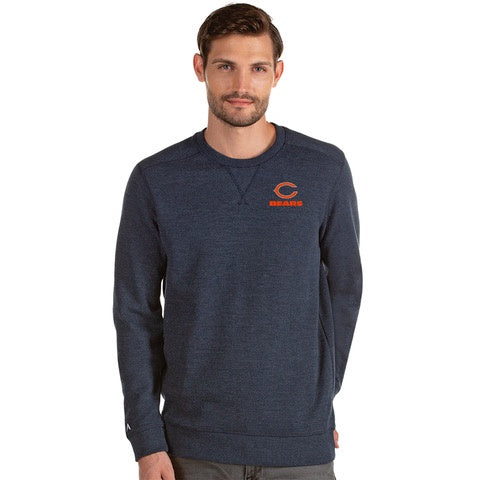 Men's Chicago Bears Antigua Navy Defender Sweater