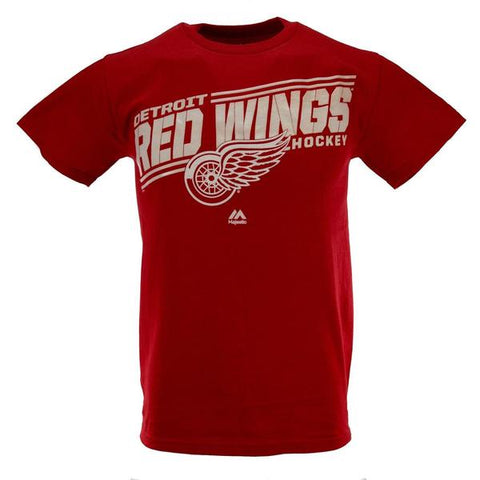 Mens Detroit Red Wings Red Home Ice Advantage T-Shirt