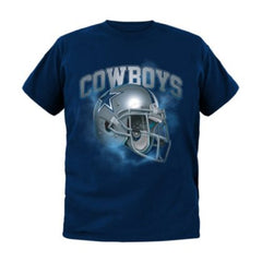 Dallas Cowboys Youth Vapor Helmet Tee