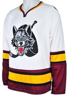 Men's Chicago Wolves Premier Home Replica Jersey