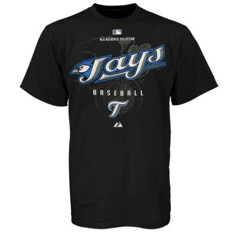 Toronto Blue Jays Black Authentic Collection Momentum T-Shirt