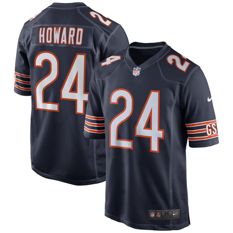 Youth Chicago Bears Jordan Howard Nike Navy Game Jersey