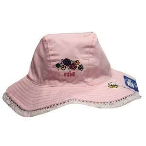 Chicago Cubs Sun And Lace Infant Pink Floppy Hat By New Era