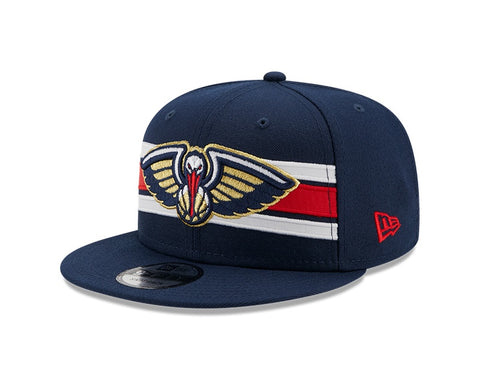 Men's New Orleans Pelicans Navy Strike 9FIFTY Snapback Hat
