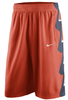 Nike Illinois Fighting Illini Orange On Court Replica Basketball Shorts