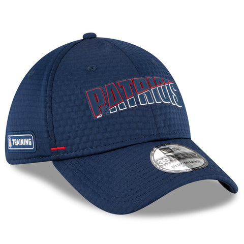 Men's New England Patriots New Era Navy 2020 NFL Summer Sideline Official 39THIRTY Flex Hat