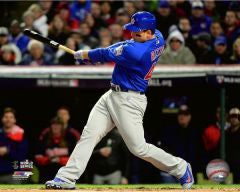 Anthony Rizzo Chicago Cubs 2016 World Series Action #2 Photo