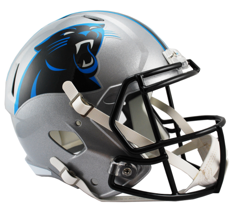 Carolina Panthers Full Size Replica Speed Helmet