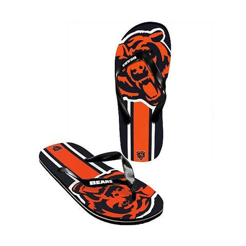 Unisex Chicago Bears Big Logo Flip Flops - Pro Jersey Sports