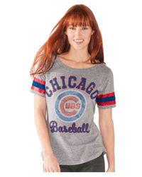 Women's Chicago Cubs Triple Play Tee
