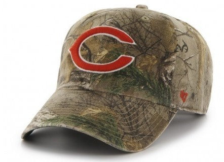 Chicago Bears Real Tree Big Buck Clean Up Adjustable Strapback Hat - Pro Jersey Sports - 1