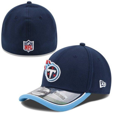 Tennessee Titans New Era 2014 On-Field 39Thirty Performance Flex Hat - Pro Jersey Sports - 1