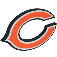 Chicago Bears 3D Foam Wall Sign - Pro Jersey Sports