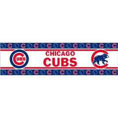 Chicago Cubs Wall Border Logo in Red White & Blue - Pro Jersey Sports
