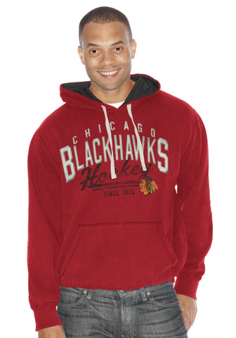 Chicago Blackhawks Field Goal Pullover Hoody