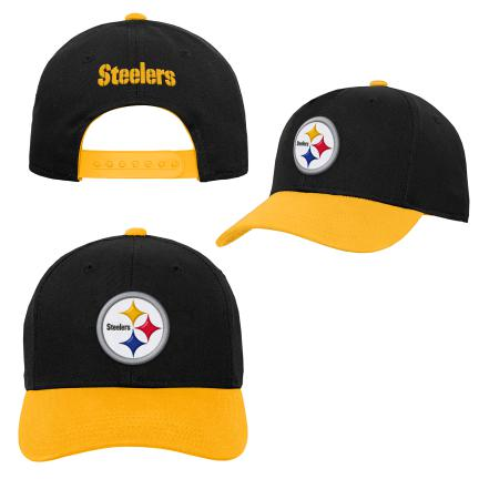Youth Pittsburgh Steelers NFL Two-Tone Adjustable Hat