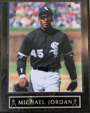 Michael Jordan Chicago White Sox Plaque