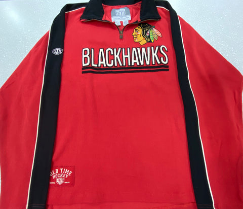 Men's Chicago Blackhawks Conor 1/4 Zip Pullover