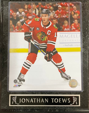 Jonathan Toews Chicago Blackhawks Wall Plaque