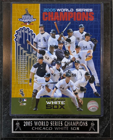 2005 World series Champions Chicago White Sox Plaque