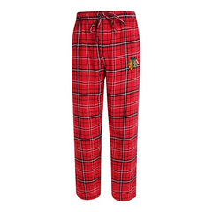 Chicago Blackhawks Bleacher Plaid Flannel Pajama Pant