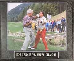 Bob Barker vs Happy Gilmore Wall Plaque
