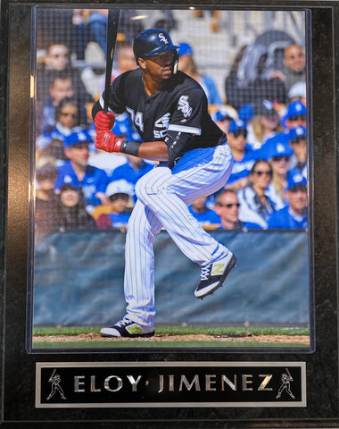Eloy Jimenez Chicago White Sox Plaque