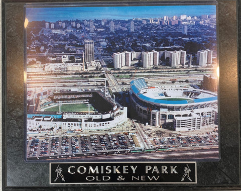 Comiskey Park Plaque
