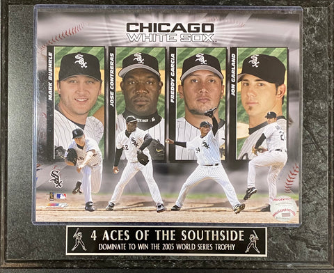2005 Four Aces of the South side Chicago White Sox Plaque