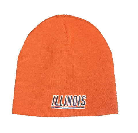 Men's University of Illinois Fighting Illini Uncuffed Beanie