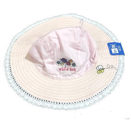Chicago White Sox Sun And Lace Infant Pink Floppy Hat By New Era