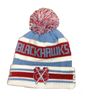 Chicago Blackhawks Chicago Flag Jake Knit Hat By New Era