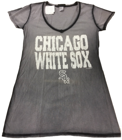 Women's Chicago White Sox Faded Gray Tee