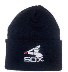 Chicago White Sox Navy 1983 Cuffed Knit Hat