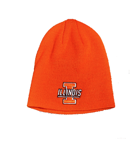 Top of the World Men's Illinois Fighting Illini Orange TOW Classic Knit Beanie