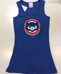 Women's Chicago Cubs 84' Faded Tank Top