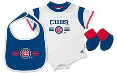 Adidas Chicago Cubs Creeper Set -Infant - Pro Jersey Sports