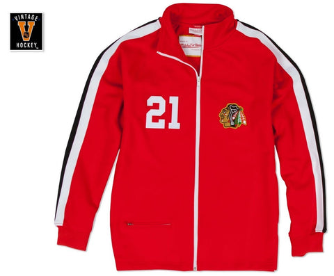 Chicago Blackhawks Stan Mikita 1971-72 Authentic Warm Up Jacket