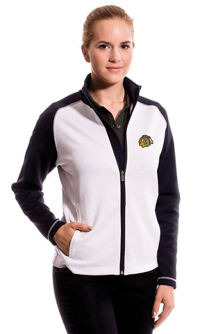 Chicago Blackhawks Women's Levelwear JEWEL Full Zip Jacket