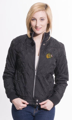 Chicago Blackhawks Women's Levelwear Snowflake Full Zip Jacket