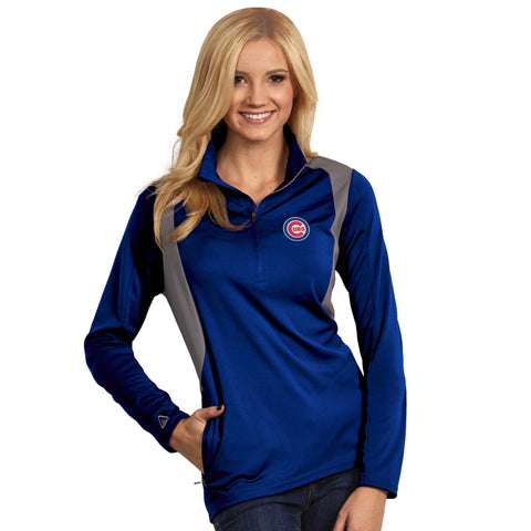 Chicago Cubs Women's Delta Pullover Fleece Jacket by Antigua - Pro Jersey Sports