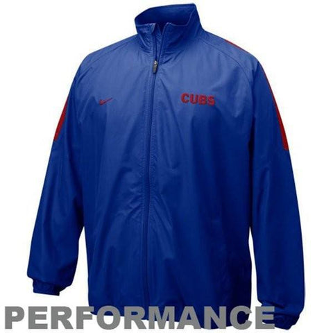 Nike Chicago Cubs Royal Blue Rain Check Lightweight Jacket - Pro Jersey Sports - 1
