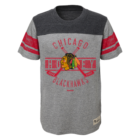 Child Chicago Blackhawks Lineage Tee By Reebok