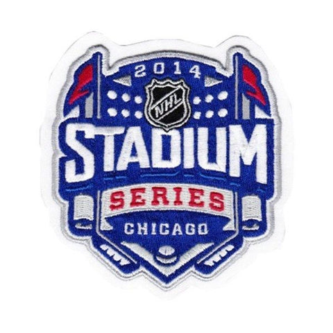 2014 NHL Stadium Series Game Logo Jersey Patch (Chicago) - Pro Jersey Sports