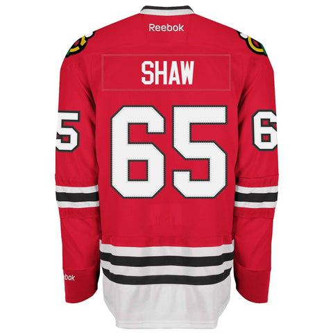 Chicago Blackhawks Andrew Shaw Youth Premier Home Jersey